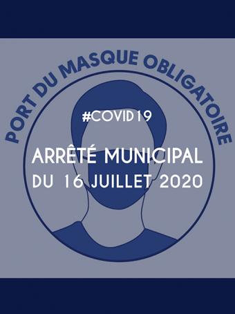 Arrêté municipal du 16 juillet 2020