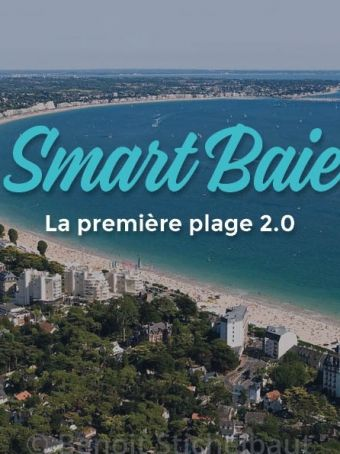 New connected beach: the #SmartBaie of La Baule!