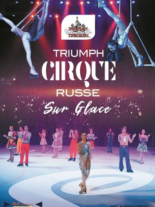 Triumph Russian circus on ice