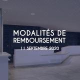 Modalités remboursement 11/09/2020