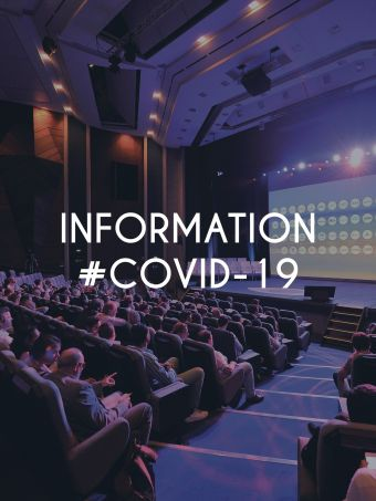 Information about the COVID-19 at the Congress Centre Atlantia in La Baule.