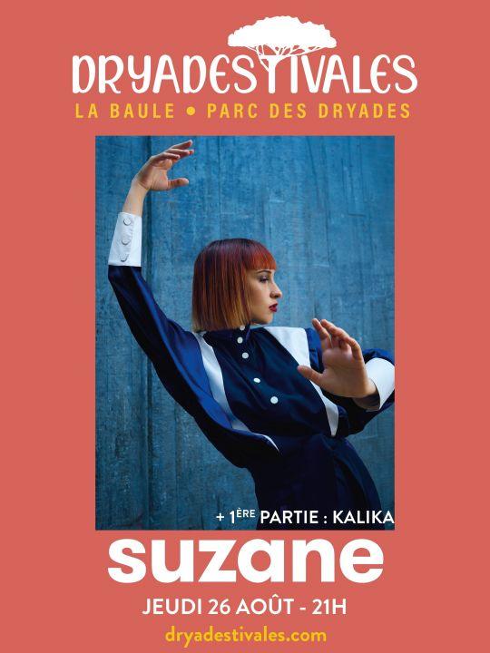 Suzane - Dryadestivales La Baule