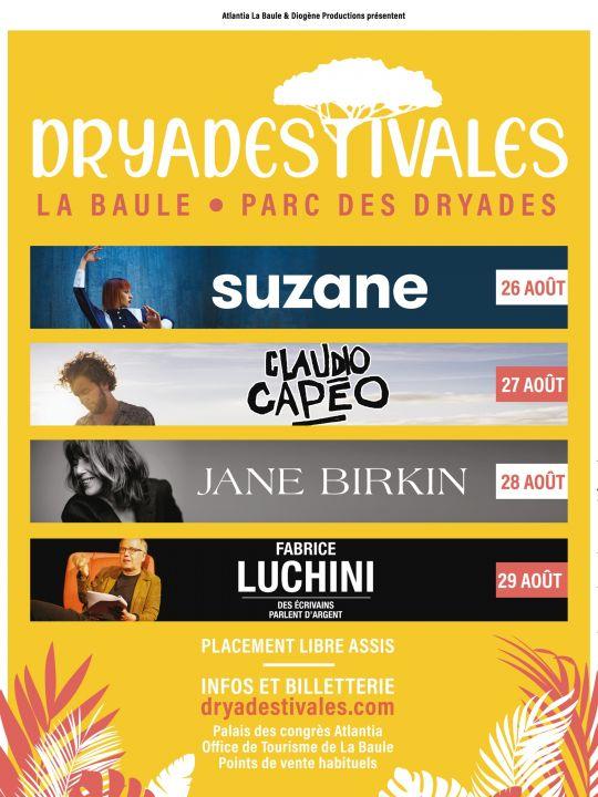 Jane Birkin - Dryadestivales La Baule