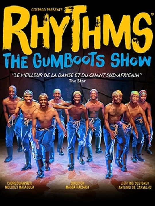 Rhythms the gumboots show